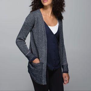 Lululemon Vestigan Sweater Inkwell